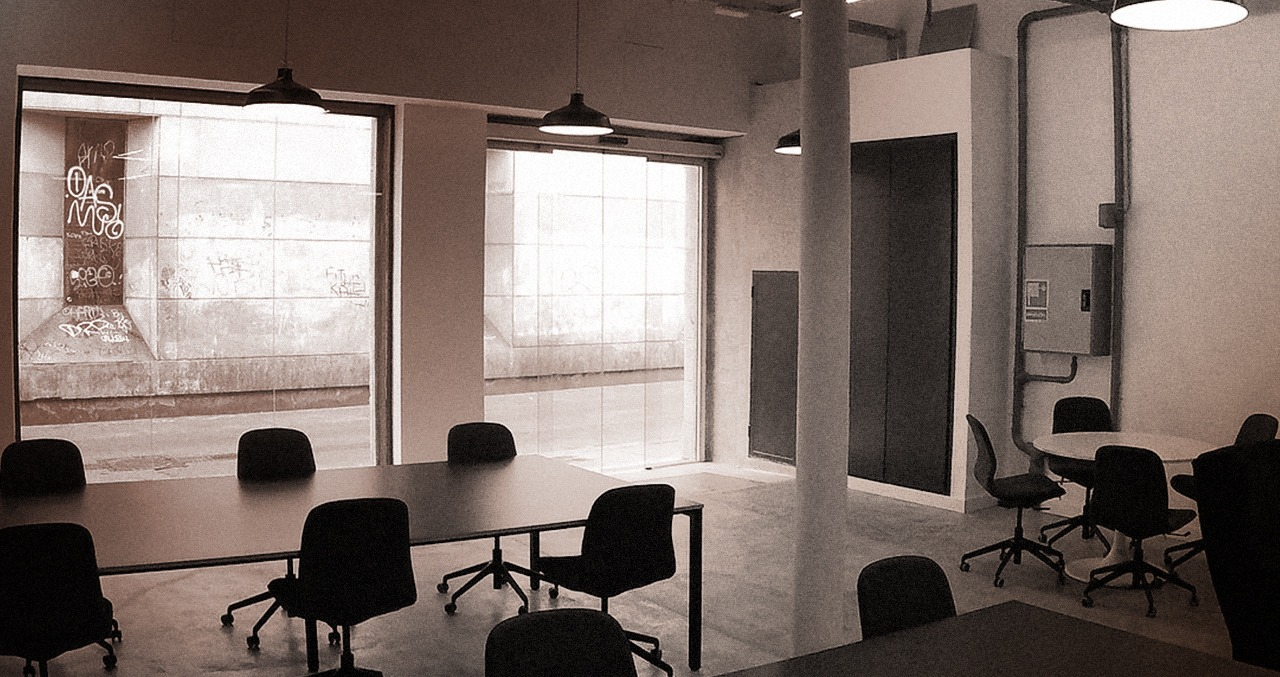 Coworking Barcelona - Big shared rooms
